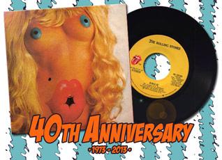 Cover Singleauskopplung Angie von den Rolling Stones